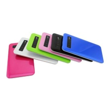 Mobile Digital Lcd Menu Slim Powerbank Cargador
