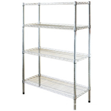 wire storage shelves/ wire basket storage/wire racks for storage with good quality
