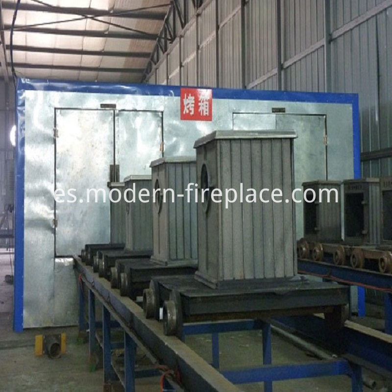 Factory of Log Wood Stoves
