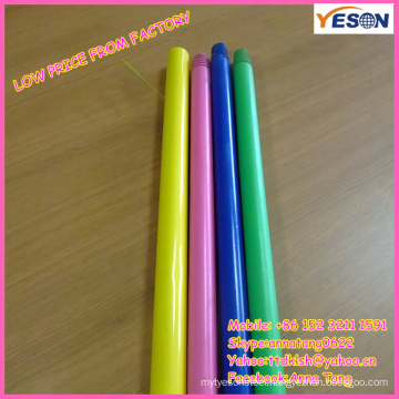 colorful wooden handle/wooden handle for toy/low price wood painted