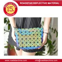 Mini cubo arco-íris reflexivo bolsa moda wowen