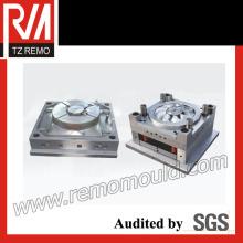 Molde de injeção plástica para ventilador eletrônico