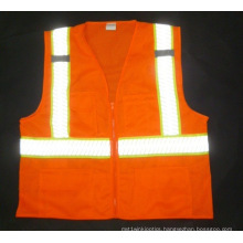 Hot Sale Hi Visibility Safety Vest with Strip Tape (DFJ1601)