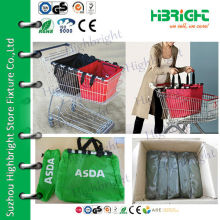 Durable High Quality grocery cart shopping bag
