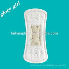 Nouvelles serviettes hygiéniques serviettes hygiéniques pour femmes sexy panty liner sport panty liner