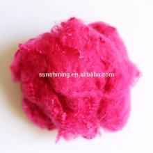 Tricot coloré Fibre chimique Fils de polyester