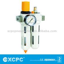 Quelle Behandlung-XOU Serie Filter Druckregler + Öler-FRL-Air Filter Kombination-Luftaufbereitung Einheiten
