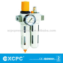 Aire fuente tratamiento XOU serie filtro regulador + lubricador-FRL-filtro combinación aire preparación unidades