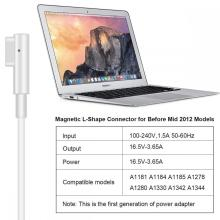 60 Вт 16,5 В 3,65 А Apple Macbook Magsafe1 / 2