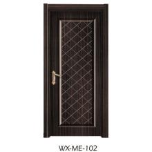 Preço baixo Excelente qualidade Porta de melamina Hotsale (WX-ME-102)