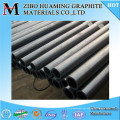 High density graphite tube for continuous casting