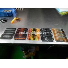 venta caliente impresión colorida PU gel mágico antideslizante coche pad
