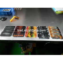 горячая распродажа красочные печать PU гель магия Антипробуксовочная площадку автомобиль