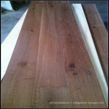 Plancher en bois machiné par chêne huilé blanc huilé / plancher en bois