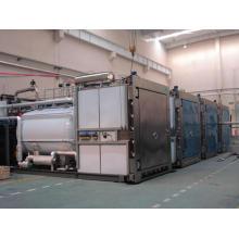 Нержавеющая сталь Микроволновая вакуумная сушильная машина для сушеных фруктов
