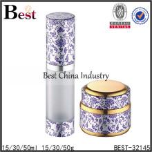 Flacons de cosmétique de 15/30 / 50ml et pots de crème, bouteilles d'emballage vides, bouteille cosmétique de lotion de soin de peau