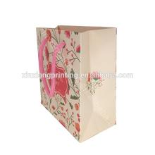 ¡Tamaño modificado para requisitos particulares! Bolsa de papel de lujo plegable del nuevo diseño