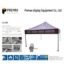 Подгонянная стальная рамка 3X3m, 3X4.5m, 3X6m Наружная всплывающая складная палатка / беседка