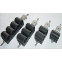 Hot Exporting 7/8 '' X2 Abrazadera para alimentador de cable de dos orificios