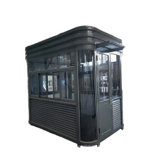 Qigong Outdoor Stainless Steel Portable Sentry Box Security Guard Booth