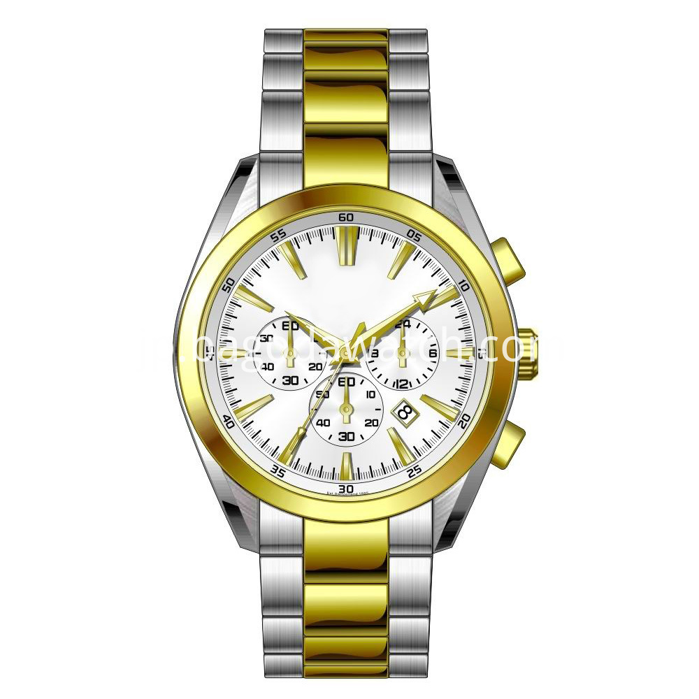 Two Tone Stainless Steel Watches