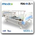 Двухфункциональная ручная больничная кровать M203