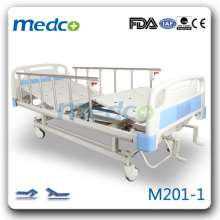 M201-1 Two cranks hand control antique hospital bed