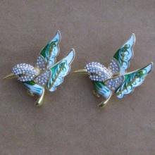 small diamante bird fashion rhinestone brooches