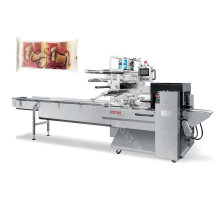 Automatic Toast Bread Horizontal Flow Packing Machine
