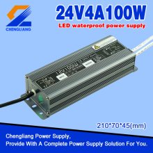 24V 100W IP67 kalis air LED Transformer