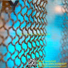 Malla de moda del metal del anillo de la cortina