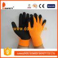 Guante de látex negro fluorescente de nylon (DNL415)