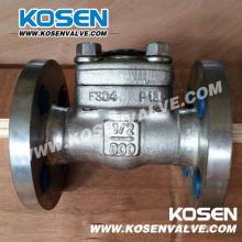 Фланцевые обратный клапан (H41W)