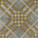 moreroom water-jet marble floor tile hot sale design