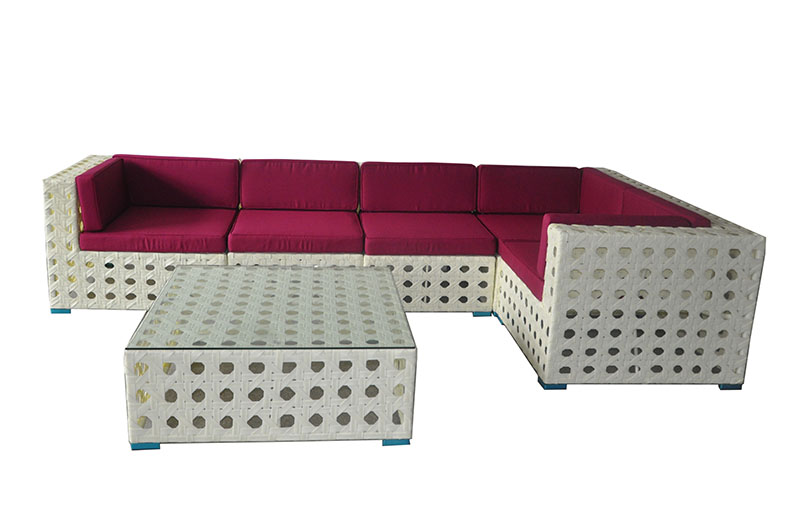 Outdoor Wicker Sofa Furniture