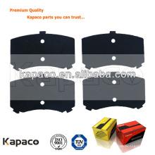 Coussin de frein à disque Kapaco cale en caoutchouc pour D1447