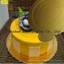 Forme ronde avec des conseils de gâteau découpés à la matrice, des plats de gâteau de FDA et de GV (B & C-K060)