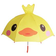 В17 желтая утка зонтик зонтик ребрышками ребенок зонтик
