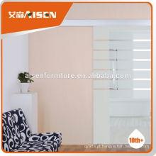 Garantia garantida da qualidade diretamente portas residenciais de dupla entrada de alumínio