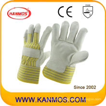 Cowhide Grain Industrial Safety Work Leather Gloves (120042)