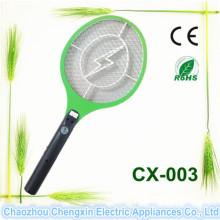 Vente chaude Chauve-souris Rechargeable Mosquito Swatter Big Size avec lampe de poche
