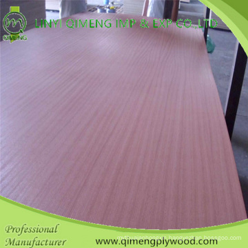 Size 4′x8′ 2.7mm Sapele Fancy Plywood with Good Quality