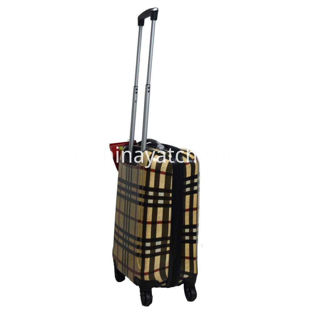 Buberry classic design trolley suitcase