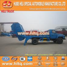 140hp DONGFENG hermetische Müllwagen Armrolle Müllwagen zum Verkauf Müllwagen 4x2 6CBM Rabatt Preis Fabrik direkt