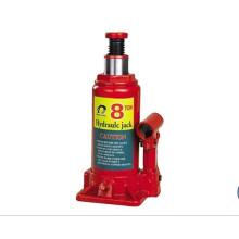 8 Ton SGS approuvé Hauteur maximale 385mm Bouchon de bouteille hydraulique