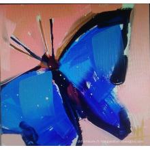 Peinture à l'huile de papillon