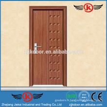 JK-P9013 Porte pvc / mdf en bois intérieur en bois