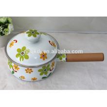 Enamelware Casserole smudge pot
