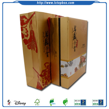 Luxury paper packaging tea gift box set