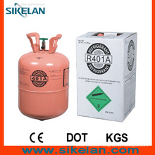 Slightly Sour R401A Mixed Refrigerant Gas